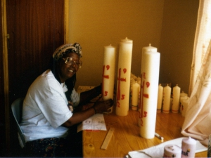 Kerzenherstellung in Afrika